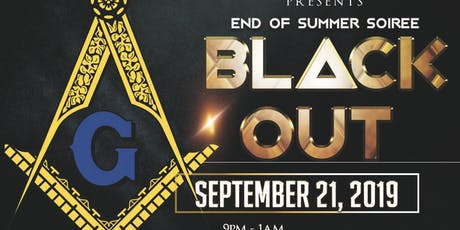 2019 End of Summer Soiree - Black Out tickets