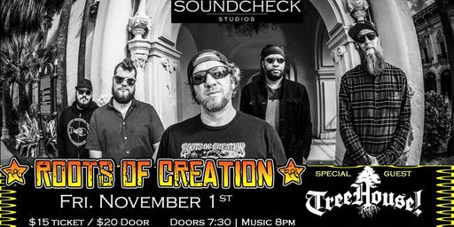 Roots of Creation w/ TreeHouse! at Soundcheck Studios