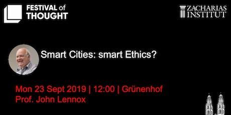 Smart Cities: Smart Ethics? tickets