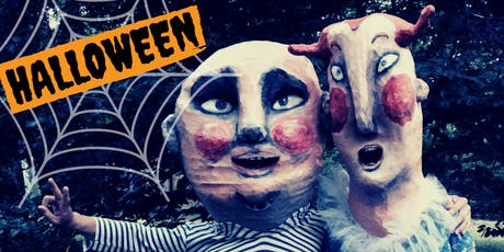 MAKE A GIANT halloween head!!!  animals, monsters or ugly humans tickets