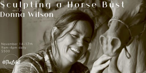 Sculpting a Horse Bust with Donna Wilson