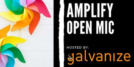 Amplify Open Mic tickets