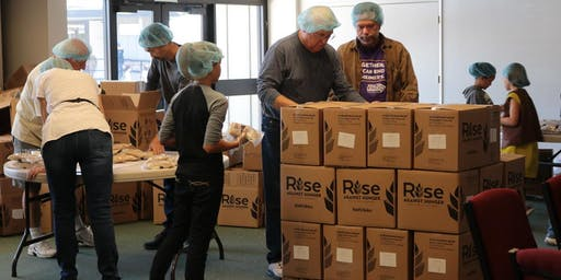 Rise Against Hunger Clean Up (@ LAUMC)