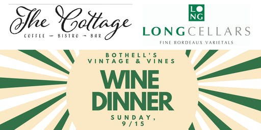 Bothell Vintage and Vines Wine Dinner