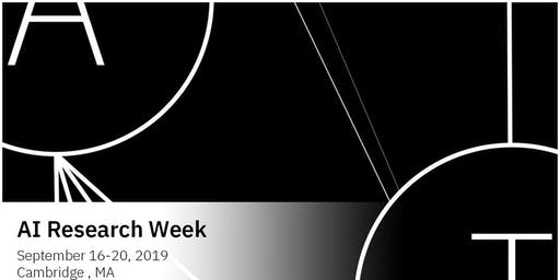 2nd Annual AI Research Week (2019)