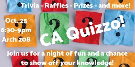 CA Quizzo Fundraiser! tickets