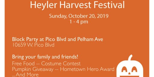 Heyler Harvest Festival 2019