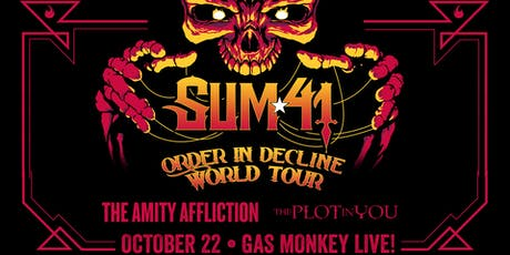 Sum 41 w/ The Amity Affliction tickets
