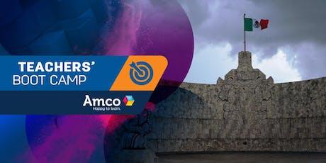 Amco Teachers' Boot Camp | Sede Mérida boletos