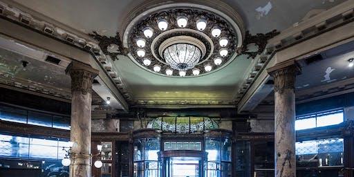 La Confitería Del Molino en la Noche del Art Nouveau 2019: visita especial
