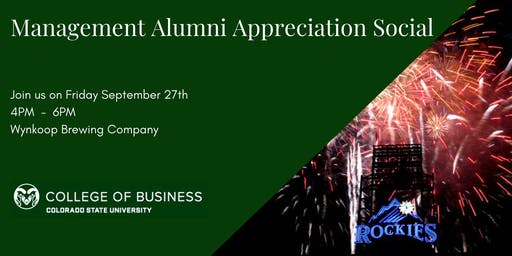 CSU College of Business Management Alumni Social