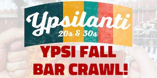 YPSI FALL Bar Crawl!