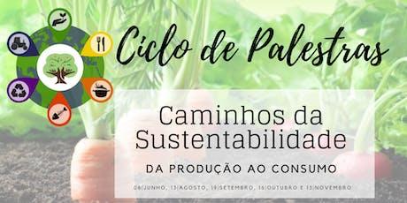 """""""CENÁRIO POLÍTICO BRASILEIRO: ALIMENTAÇÃO E SUSTENTABILIDADE EM PAUTA"""" ingressos"""