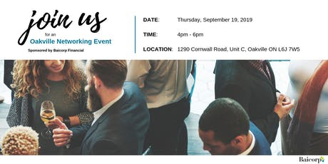 Oakville Networking  Event tickets