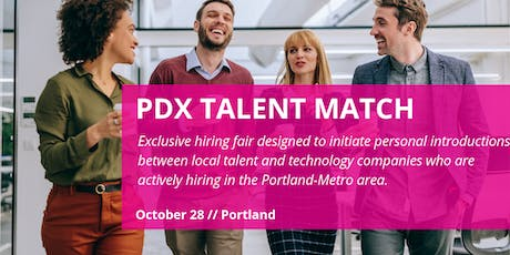 2019 PDX Talent Match: Company Registration tickets