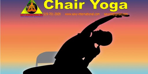 Chair Yoga/ Yoga For The Absolute Beginner