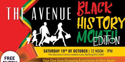 THE AVENUE  - BLACK HISTORY  MONTH EDITION
