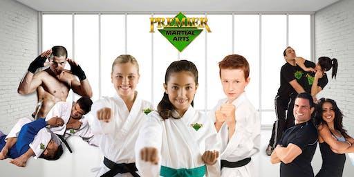 Premier Martial Arts Graduation Ceremony -  Saturday September 28th 2019.