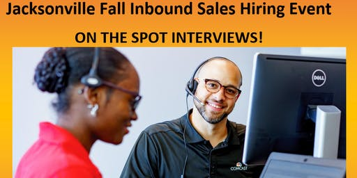 Jacksonville Fall Inbound Sales Hiring Event