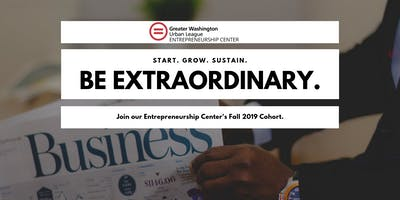 Entrepreneurship Center Fall 2019 Cohort
