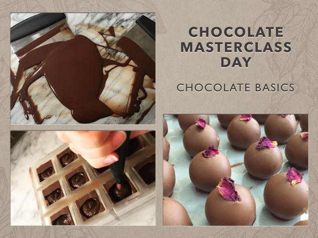 Chocolate Master Class Day - The Chocolate Basics