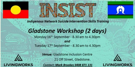 INSIST  Indigenous network suicide intervention skill training
