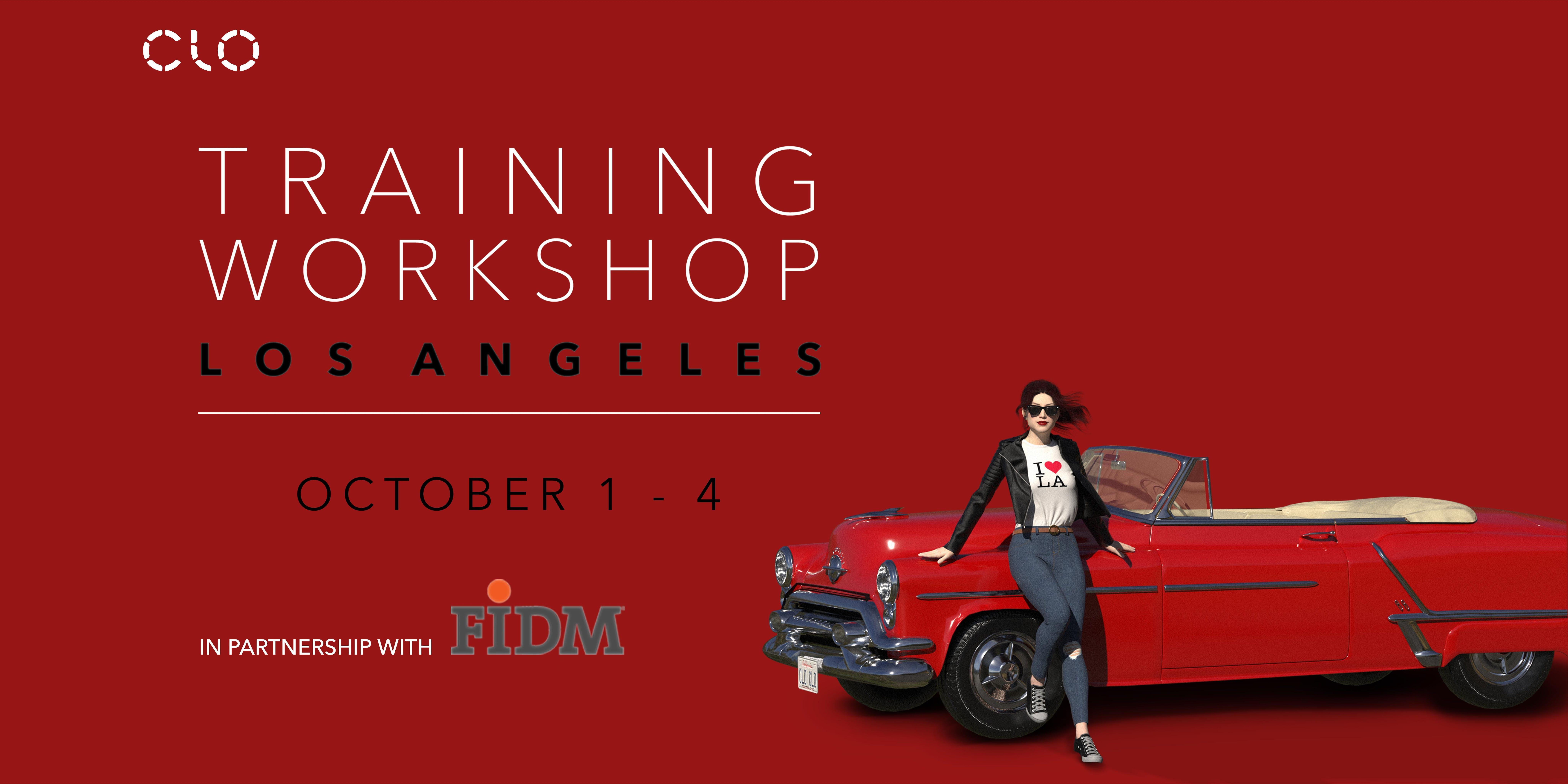Clo Virtual Fashion Training Workshop La 1 Oct 2019