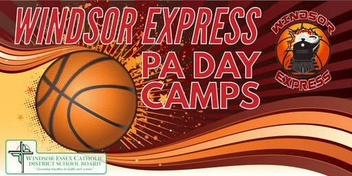 Windsor Express PA Day Basketball Camps