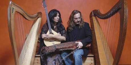 Celtic harps, rare instruments & wondrous stories: an OregonFlora benefit tickets