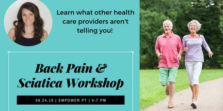 Free Back Pain & Sciatica Workshop tickets