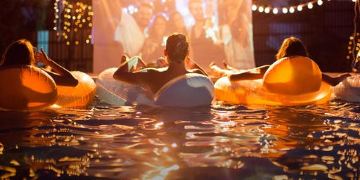 Halloween Dive-In Movie at Fashion Island Hotel