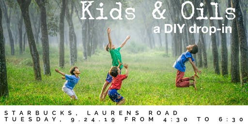Kids & Oils: a DIY drop-in