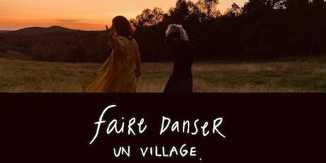 Lancement Faire danser un village Sherbrooke billets