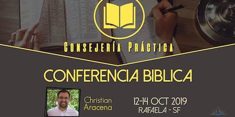 """Conferencia Bíblica """"Consejería Práctica"""" entradas"""