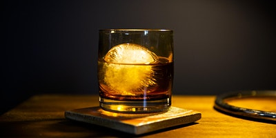 Around the World Whiskey Tasting glassybaby madrona - 12/14/19