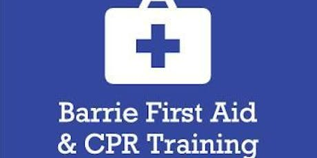 Standard First Aid and CPR tickets