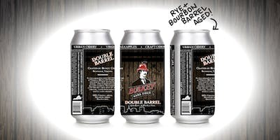 Buskey Double Barrel Cider Release