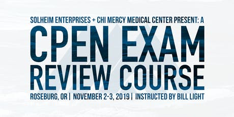 Sohlheim's CPEN Exam Review Course tickets