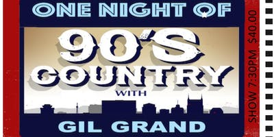 One Night of 90's Country - Rocky Mountain House, AB