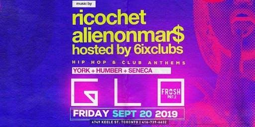 Frosh Glow Party @ Moda Nightclub // Friday September 20th |