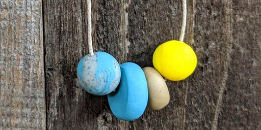 End Summer With a POP-Pop of Color (Polymer Clay Jewelry Making workshop)