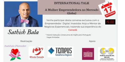 International Talk: A Mulher Empreendedora no Mercado Global
