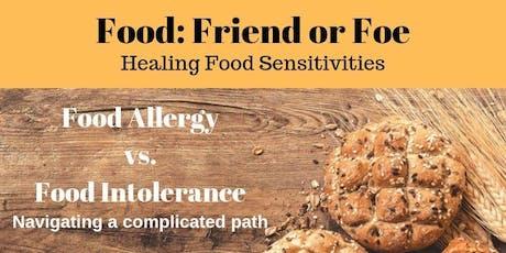 FOOD: Friend or Foe tickets