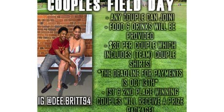 2019 Couples Field Day tickets