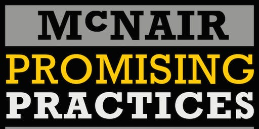 2020 McNair Promising Practices Institute (MPPI)