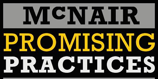 2020 McNair Promising Practices Institute (MPPI)