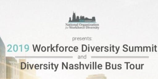 2019 Diversity Summit &Diversity Nash Bus Tour $125    Nonprofit/ Govt