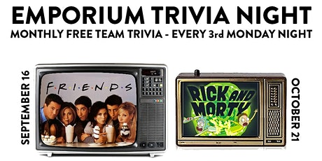 Monthly Trivia Night  tickets