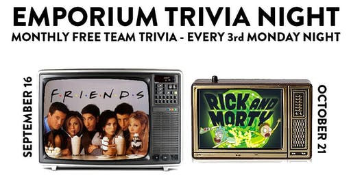 Monthly Trivia Night