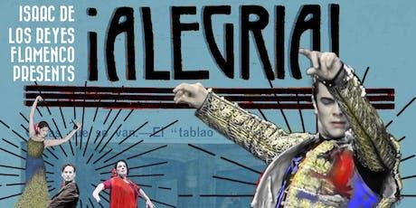 ¡ALEGRIA! An Evening of Flamenco Music and Dance tickets